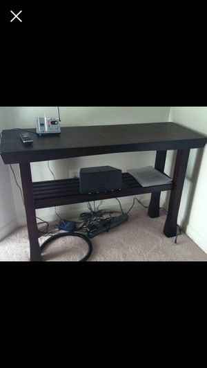 Solid wood console table for Sale in Aldie, VA