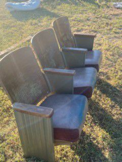 Theatre chairsfrom local business for Sale in Abilene, TX