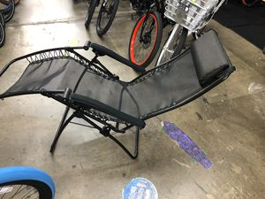 RV Camping Folding gravity Chaise Loungers set of 2 Like new!! for Sale in Anaheim, CA