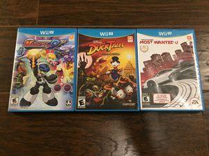 Nintendo Wii U Video Games Bundle for Sale in Orlando, FL