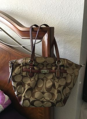 Coach canvas handbag for Sale in San Diego, CA