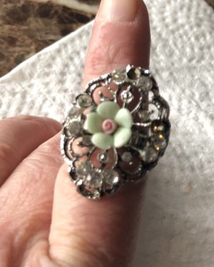 Pretty Rose Victorian Adjustable Ring for Sale in Parkville, MD