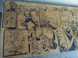 Coffee table Marvel Stan Lee for Sale in Melbourne, FL