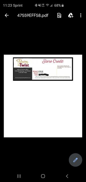 Painting with a Twist voucher code for Sale in Colorado Springs, CO
