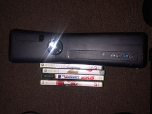 Xbox 360 Kinect w/ games for Sale in Fairfax, VA