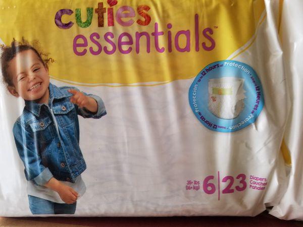 Diaper packs Cuties