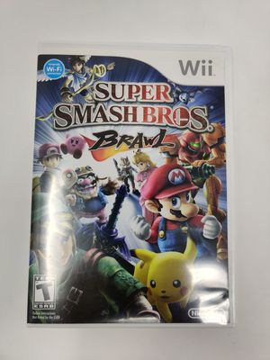 Super smash brothers Brawl Nintendo Wii for Sale in Crofton, MD