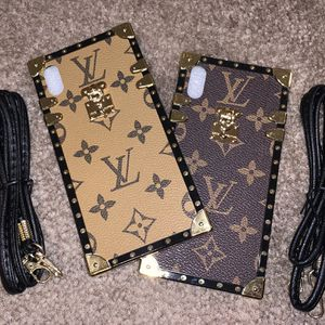 Black/Brown or Black/Tan iPhone Case X/XS,XR,XSMAX,11,11PRO,11PROMAX for Sale in Las Vegas, NV