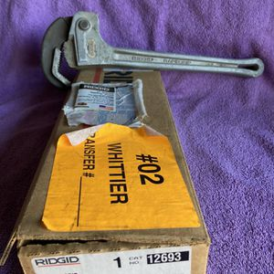 Ridgid Pipe Wrench for Sale in Whittier, CA