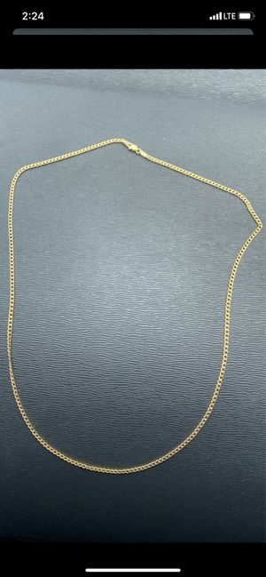Gold chain 10K 22 inches for Sale in Fort Lauderdale, FL