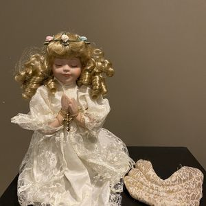 Antique Porcelain Angel Doll for Sale in Baltimore, MD