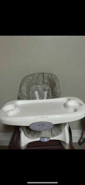 Fisher price highchair space saver/booster $18firm for Sale in Laveen Village, AZ