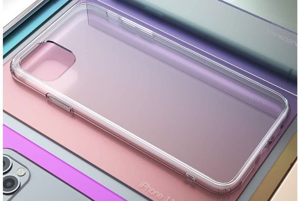 New in Box- Clear IPhone 11 Max Pro case with screen protector