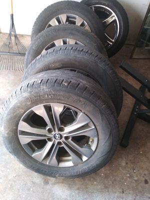 Rims with tires 225 65 17 hyundai Elantra OEM wheels for Sale in Glenarden, MD