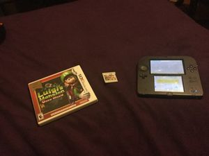 Nintendo 2ds with super smash bro's and luigis mansion dark moon/ no 4 gb SD card with charger for Sale in Silver Spring, MD