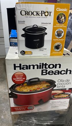Crock pot small and big for Sale in Norcross,  GA