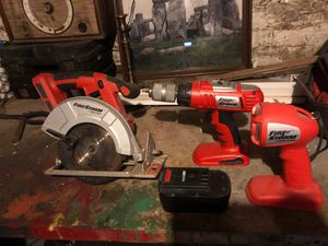 Black and Decker Saw, Drill, and Flashlight for Sale in DORCHESTR CTR, MA