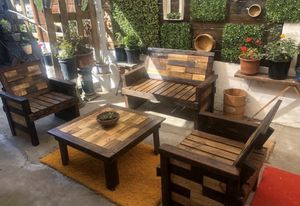 Rustic patio furniture for Sale in San Diego, CA