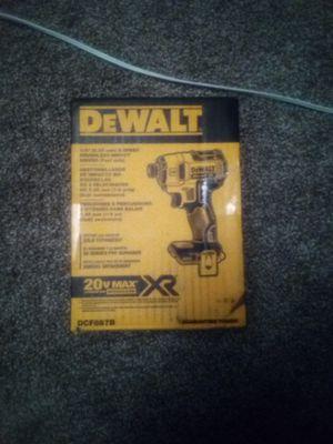 DeWalt 20 v impact gun for Sale in Tonawanda, NY
