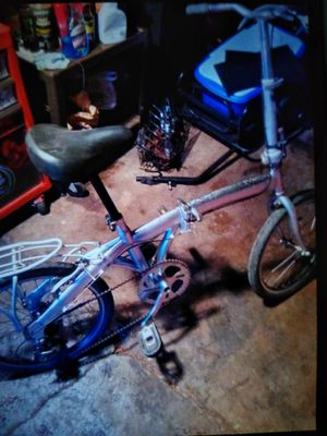 """Summer fun 20"""" inch fold-up bike for Sale in Chicago, IL"""