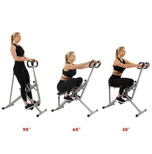 Sunny Health & Fitness Squat Assist Row-N-Ride Trainer for Squat Exercise and Glutes Workout for Sale in Roselle, NJ