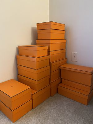 Hermes Boxes (Empty) for Sale in Watertown, MA