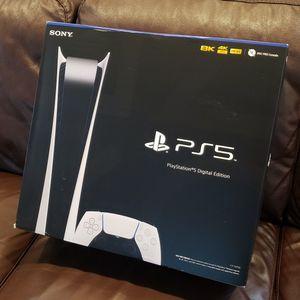 Playstation 5 PS5 digital for Sale in Montclair, NJ