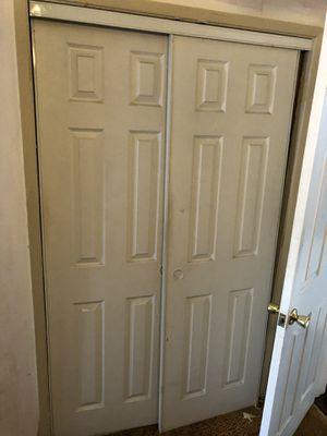 2 full sets of closet doors for Sale in Bellflower, CA