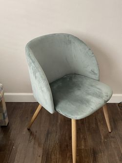 Sage Green Velvet Chair for Sale in West Hollywood,  CA