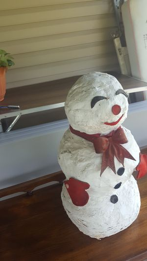 Very old homemade snowman for Sale in East Petersburg, PA