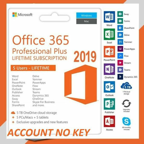 Microsoft Office 365 Plus Full Version Software 2020