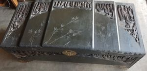 1930-1940 Chinese Hand Carved Chest for Sale in El Cajon, CA