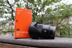 Sony - E PZ 18-105mm f/4.0 G OSS Power Zoom Lens for Sale in Centreville, VA