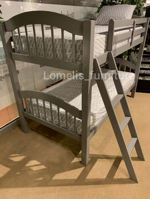 Twin/twin bunk beds with mattresses included for Sale in Covina, CA