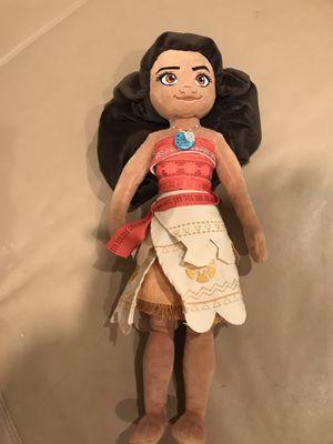 Disney Moana plush doll for Sale in Glendora, CA