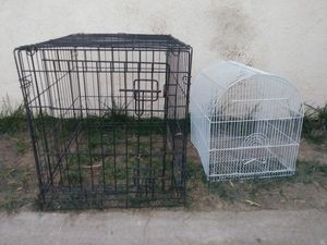 Dog Kennel & Bird cage for Sale in Hesperia, CA