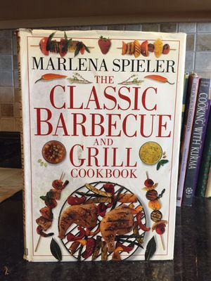 The classic barbecue and grill cookbook by Marlena Spieler for Sale in Ridgecrest, CA