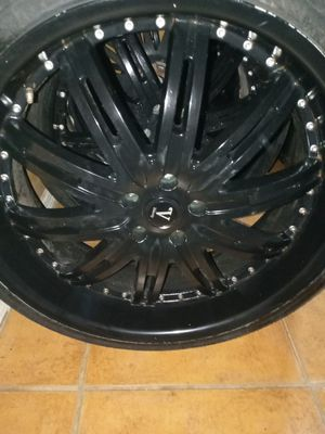 Velocity rims and tires for Sale in Hialeah, FL
