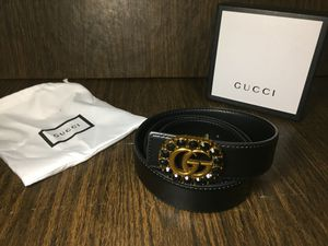 Gucci Black Diamond Belt for Sale in New York, NY