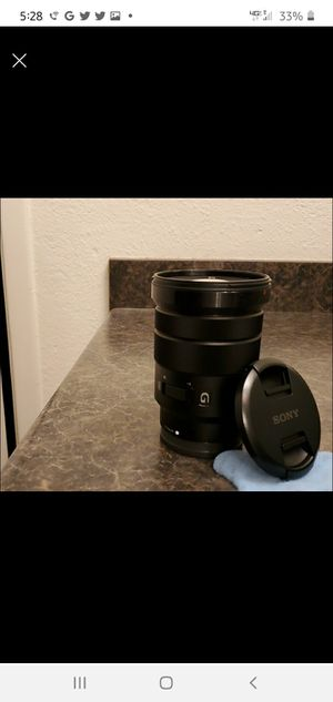 Sony G lens Variable Nd and Polarizer filter for Sale in Phoenix, AZ