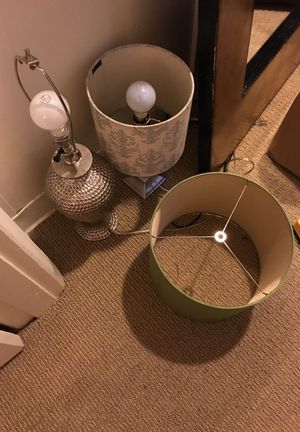 2 lamps for Sale in Portland, OR