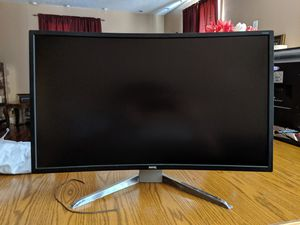 """BenQ 31.5"""" curved monitor for Sale in Omaha, NE"""