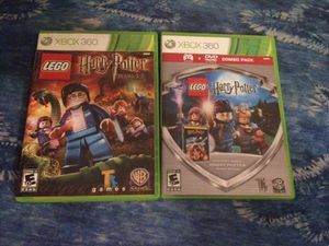 Xbox 360 Lego Harry Potter Games and movie for Sale in Orlando, FL