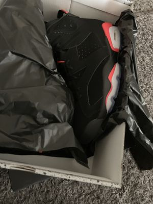 Jordan 6s infrareds size 11 for Sale in Detroit, MI