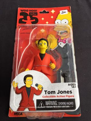 NECA 25TH ANNIVERSARY The Simpsons Action Figure for Sale in San Diego, CA