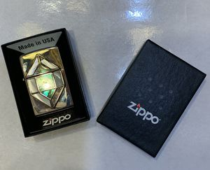 Zippo Lighter retired Stain Glass design collectible never used for Sale in Snohomish, WA