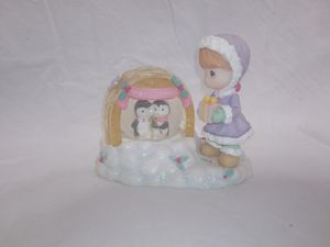 Vintage Precious Moments Christmas Snow Globe for Sale in Lawrenceville, GA