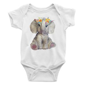 Baby Bodysuit/Onesie Baby Elephant for Sale in New Port Richey, FL