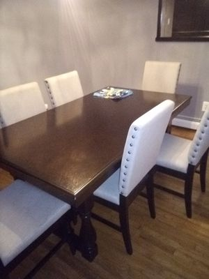 Dinner table 6 chairs for Sale in Trenton, NJ