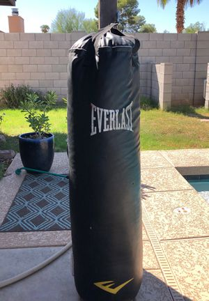 Everlast workout bag and stand for Sale in Chandler, AZ